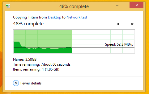 Intel file transfer